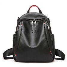 New Women's Genuine Cow Leather Backpack Travel Bag Handbag Fashion 3colors M