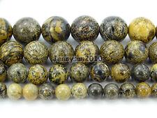 Natural Artistic Jasper Gemstone Round Spacer Beads 15.5'' 4mm 6mm 8mm 10mm 12mm