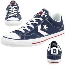 Converse STAR PLAYER OX Schuhe Sneaker Canvas Blau 144150C