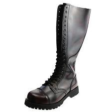 Boots & BRACES - 20-loch BORDEAUX BOTTES RANGERS ROUGE