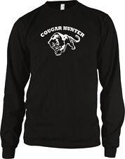 Cougar Hunter - Loves Older Woman  MILF Hot Moms Funny Long Sleeve Thermal
