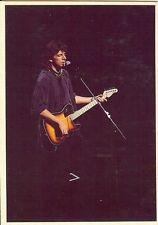 Carte Postale Postcard Chanteur Patrick BRUEL Avec Guitare Sur Scene