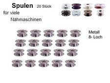 Bobinas para muchas otras máquinas de coser metal 8 agujeros, 20 St. #hbo. si