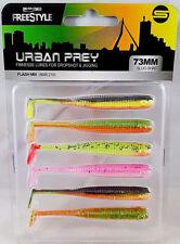 Spro Freestyle Urban Prey Micro Slug Shot Drop-Shot UL-Fishing 6 Stk Barsch