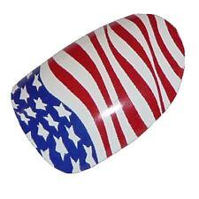 CHIX Nail Wraps WORLD CUP Stars Stripes USA Flag Toes Foil SALON QUALITY fg11
