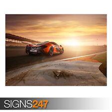 McLaren P1 Trasero (AA571) cartel de auto-foto imagen arte cartel impresión A0 a A4