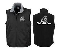Schlüter Softshell-Weste | Soft Shell Bodywarmer | Brust + Rückendr. 339/318-31