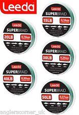 Leeda Super Braid / 150yds or 300yds / Fishing Line
