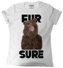 Workaholics Fur Sure Rolled Sleeve Boyfriend Juniors T-Shirt