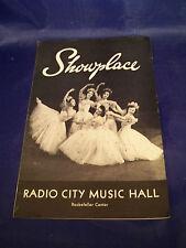 Father Of The Bride Broadway Radio City Program Elizabeth Taylor  Spencer Tracy