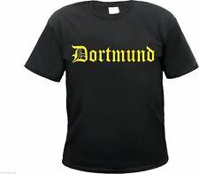 DORTMUND T-Shirt - Altdeutsch - schwarz/gelb - Größe S bis 3XL - fans, westfalen