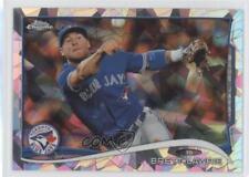 2014 Topps Chrome Atomic Refractor #219 Brett Lawrie Toronto Blue Jays Card