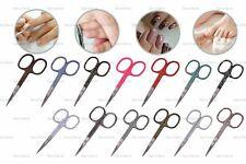 13 Styles Straight Nail Scissors Meni Pedi Sharp Beauty Beads Embroidery Sewing