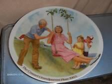 The Swinger Collector Plate Csatari Knowles 1984