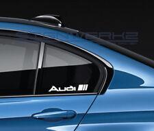 Audi Sport Decal Sticker logo RS3 TTRS TTS Quattro A4 S4 S3 S5 TT RS7 Pair