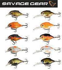 Savage Gear 3D Crucian Crank Wobbler Forellenwobbler, Forellenköder, Barschköder