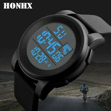 Men's Waterproof Sport Military Army Date Analog Digital LED Wrist Watch Watches