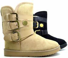 Scarpe donna stivaletti tronchetto stivali winter boots scarponi calda pelliccia