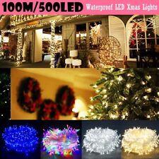20/50/100/200/300LED String Fairy Christmas Party Lights Wedding Outdoor Garden