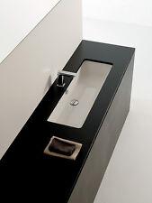 Lavandino Lavabo Sottopiano Moderno Gea in Ceramica Bianco Diverse Misure