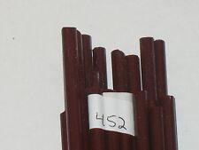 Moretti/Effetre #452 Dark Red Brown Rods