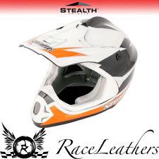 Stealth Orange HD204 Kinder Junior Gp Replik MX Motocross Helm