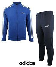 Adidas Men MTS CO Relax Jackets Training Suit Set Blue Black Jacket Pant EI5568