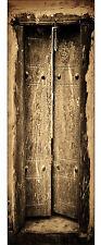 Papel pintado para puertas trampantojo decoración Antigua ref de la 577