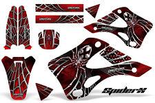KAWASAKI KX125 KX250 99-02 GRAPHICS KIT CREATORX DECALS SPIDERX SXR