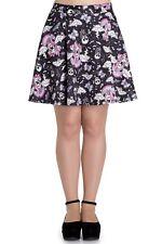 Hell Bunny Candy Goth Gothic Lolita Skull Skater Mini Skirt