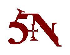 Nine Inch Nails NIN SIN Logo Car Window Laptop Guitar Vinyl Decal Sticker