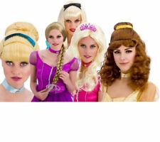 Fairytale Wigs Ladies Book Week Fancy Dress Accessory Princess Wigs
