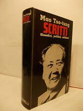 MAO TSE TUNG SCRITTI FELTRINELLI 1968