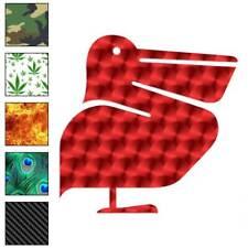 Shoebill Pelican Bird Decal Sticker Choose Pattern + Size #516