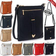 Women CrossBody Bag Ladies Messenger Designer Stylish Faux Leather Shoulder Bag