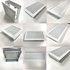 Deko Luftgitter aus Stahl Warm-Kalt Lüftungsgitter Ventilation Belüftung Ofen