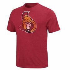 NHL Eishockey T-Shirt OTTAWA SENATORS rot Big-Time-Play-Pigment-Dyed Majestic