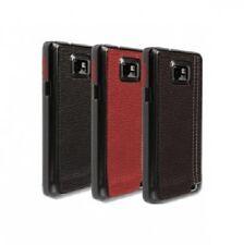 Krusell Samsung Galaxy SII teléfono funda duro con trasera de cuero S2