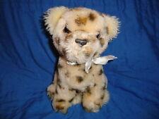 """Vintage 80's Dakin Leopard Plush 1981 / ground nutshell 7.5"""""""