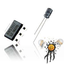 3 x AMS1117 Set (6 Teile) 1,2 1,5 1,8 2,5 3,3 5V adj. 1A Voltage Conv. Arduino