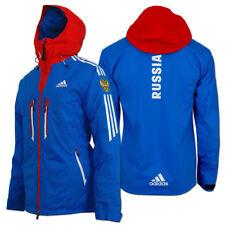 adidas Damen Cross-Country Coach Ski Jacket Team Russia Olympia Russland