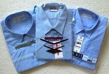 Boys School Shirt, Shortsleeve, Blue