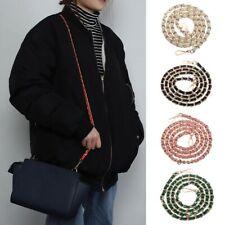 Women Handbag Shoulder Bag Strap Crossbody Metal Leather Bag Strap Chain Belt