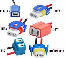 2x Keramik Lampenfassung Fassung H1 H3 HB3 HB4 H8 H11 Stecker Reparatur Kabel
