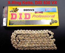 X-Ring Kette DID 530 VX, Kawasaki ZXR 750, ZXR750, J, L, 91-95, 110 Glieder, neu