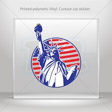 Stickers Decal Statue Of Liberty Usa Car Atv Bike vinyl bike st5 W7285