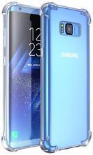 Ultra Delgado Transparente TPU Gel funda bolsa Samsung Galaxy S7 7 S8 S8+ S9 S9+ EDGE