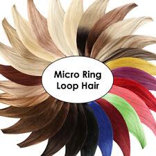 Micro-Ring Echthaar / Loop Remy Hair Extensions Echthaar Haarverlängerung