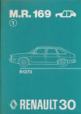 RENAULT 30 carrozzeria manuale di riparazione 4 75 M.R. 169 auto automobili Francia 1975