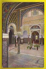 E SEVILLA Alcázar Patio de las Muñecas - circulada 1927